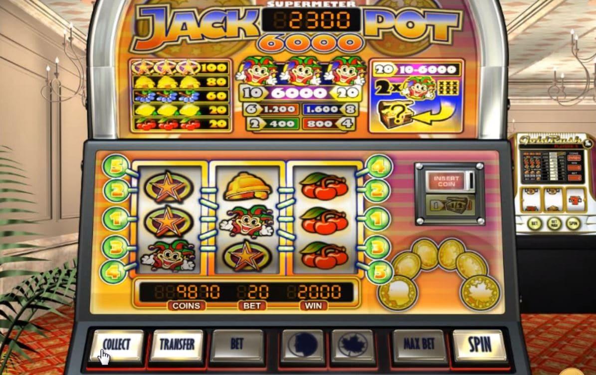 Jackpot 6000 spillemaskine